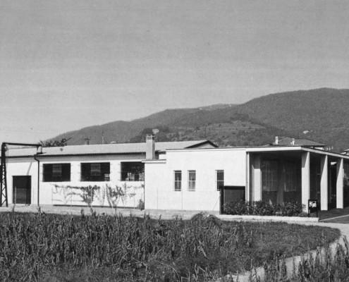 1967 - Si ampliano la zona dedicata alla produzione...